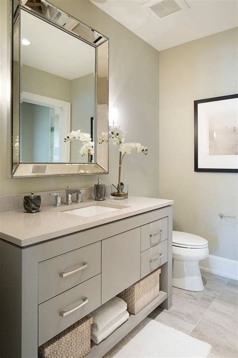 Bathroom Vanity Paint Colors by 25 Best Bathroom Ideas On Grey Bathroom Decor