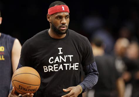 I Cant Breathe Meme - lebron james among nbaers wearing i can t breathe shirts