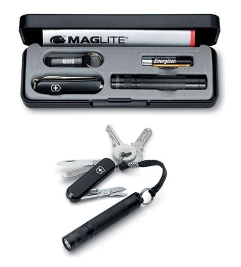 Wenger Kitchen Knives victorinox set maglite torch led and swiss army knife 4 4014