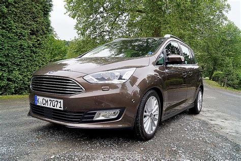 Grill Grand Max erste ausfahrt facelift ford c max und ford grand c max motormobiles