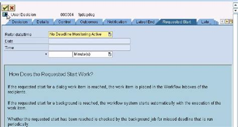 sap workflow deadline monitoring deadline monitoring abap development scn wiki