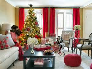Christmas Home Interiors by Como Decorar Una Sala Para Navidad