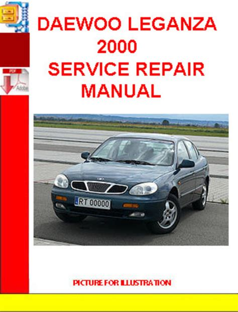 car service manuals pdf 2000 daewoo leganza parking system daewoo leganza 2000 service repair manual download manuals