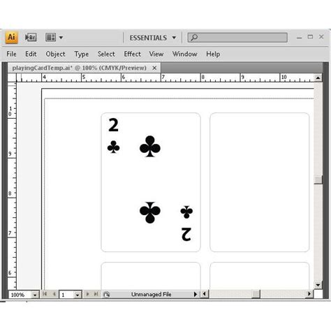 adobe illustrator card template card template illustrator best sles templates