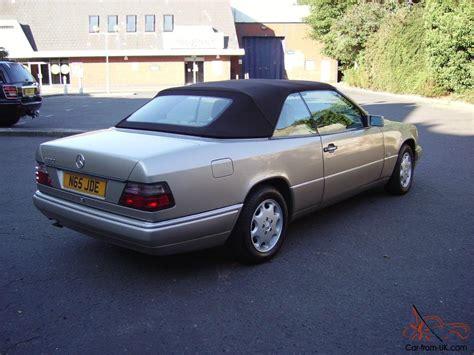 gold convertible mercedes w124 e220 cabriolet convertible 1996 automatic