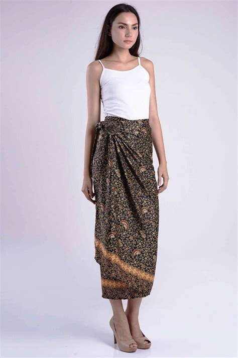 Rok Batik Wanita Pendek 4 ッ 32 model rok batik panjang pendek modern untuk pesta