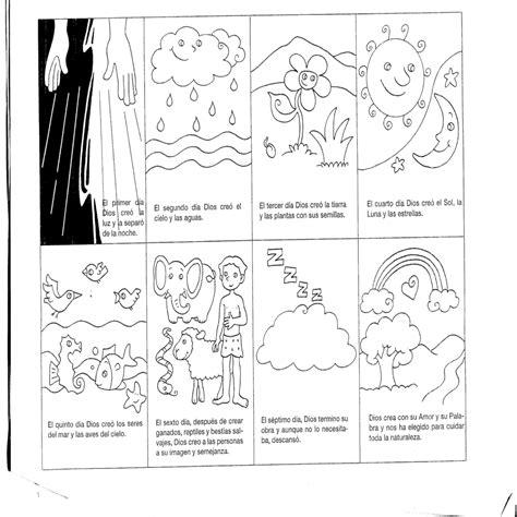 dibujos de g nesis para colorear dibujos para colorear de la creacion de dios para ni 241 os