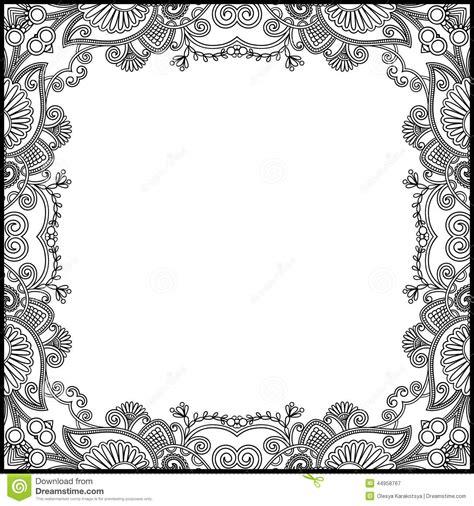 marcos vintage en blanco y negro descargar vectores gratis marco floral blanco y negro del vintage ilustraci 243 n del