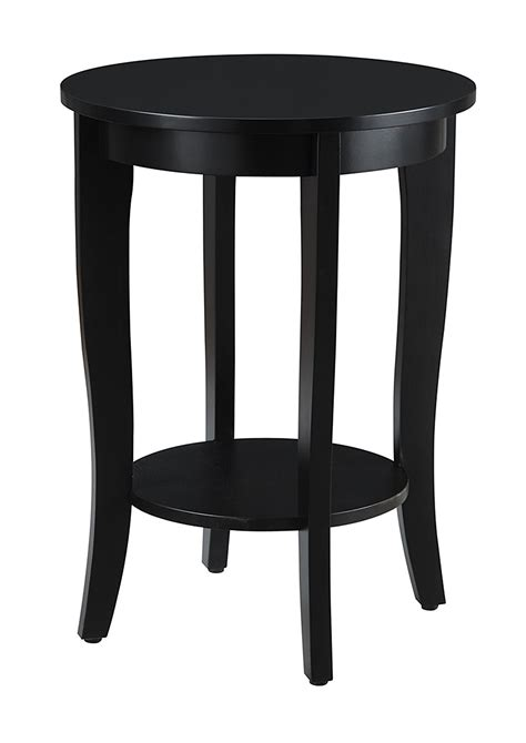 Round Black End Table   Decor IdeasDecor Ideas