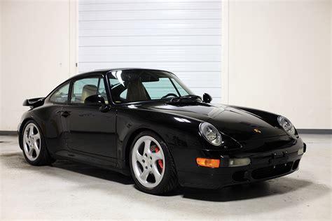 Porsche 911 Twin Turbo Specs by 1996 Porsche 993 Twin Turbo Black 45 109 Miles Sloan Cars