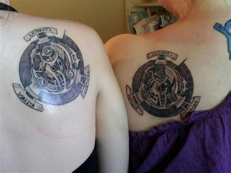 matching tomb raider tattoo creativefan