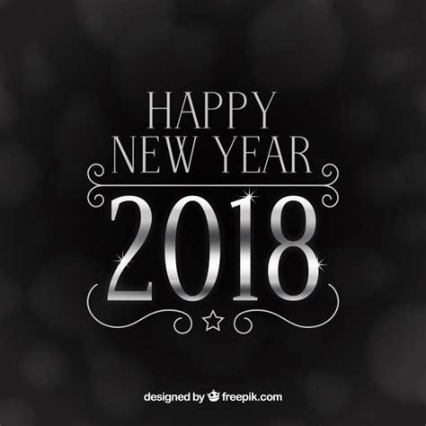 new year 2018 shio zilver nieuwjaar 2018 achtergrond vector gratis