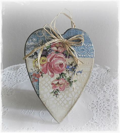 Decoupage Hearts - decoupage fever shabby chic decoupage addict