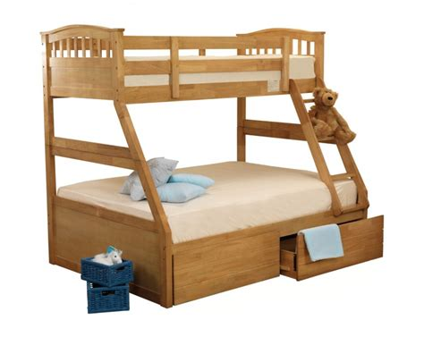 sweet sleeper bed sweet dreams epsom triple sleeper bunk bed in oak by sweet