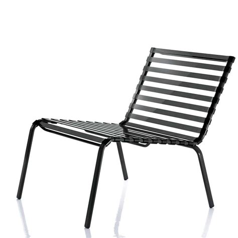 chaise basse chaise basse striped poltroncina de magis