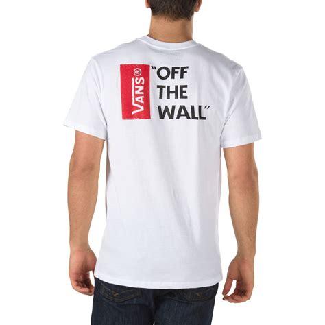 Tees Vans The Wall Tshirt Vans vans the wall white snowboard zezula