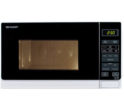 Microwave Sharp R230r S buy sharp r272wm microwave white m cuisine 4