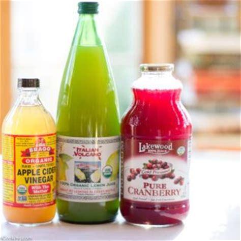 Juice Detox Washington Dc by Cranberry Apple Cider Vinegar Lemon Juice Drink A