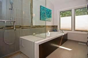 Modern master bath modern bathroom st louis by mosby building