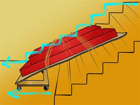 moving a sofa how to move a sofa bed up or down stairs 9 steps with