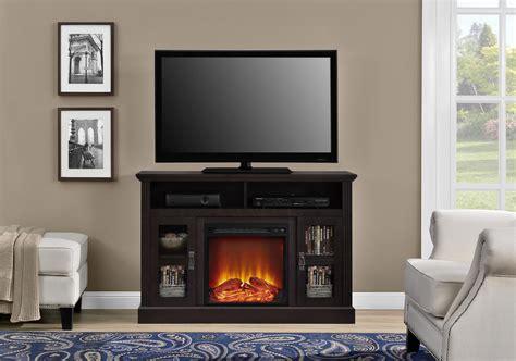 dorel home furnishings chicago espresso fireplace tv stand