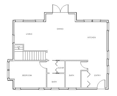 how to draw a kitchen floor plan make your own blueprint how to draw floor plans