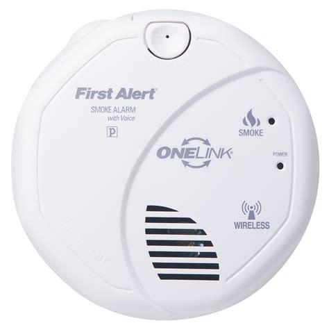 brk wireless interconnect battery smoke alarm w voice