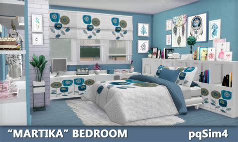 the sims 4 bed cc sims 4 cc s the best quot martika quot bedroom by pqsim4
