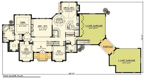House Plans With Portico Eplans Neoclassical House Plan