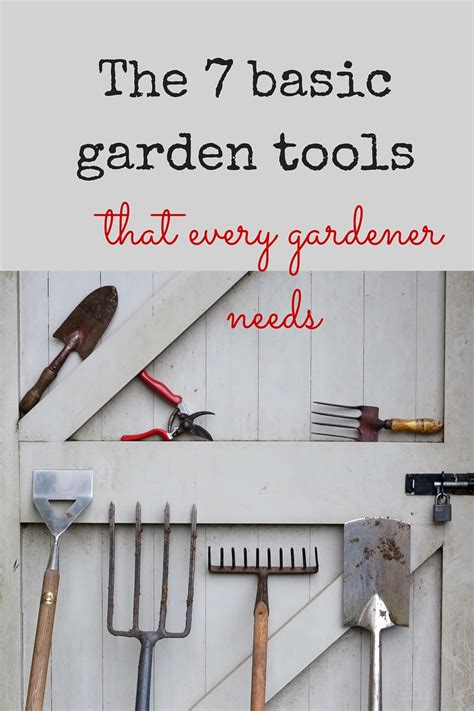 7 essential garden tools to make your gardening life