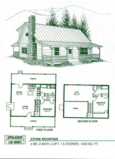 Log Cabin Floor Plans With Loft Rustic Log Cabin Floor