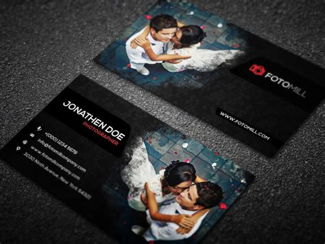 photographer business card template psd 100 free business cards psd 187 the best of free business cards