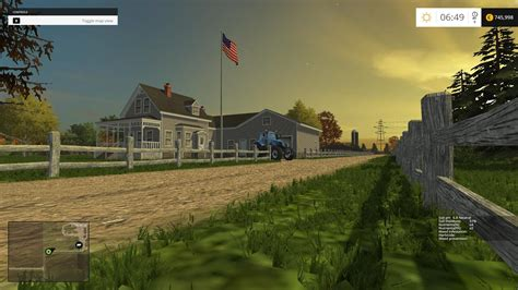 usa towns small town america v2 0 map farming simulator 2015 15 mod