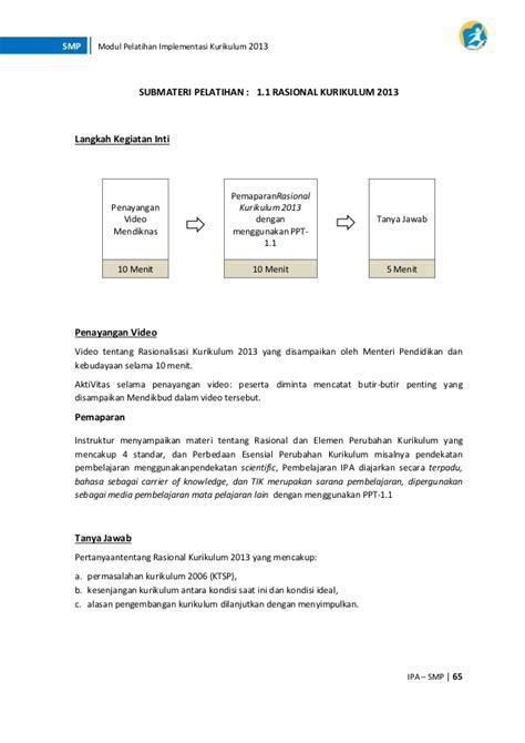 Ipa Terpadu 2a Smp Yudstr K13 k13 modul pelatihan smp ipa