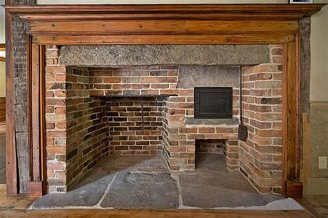 Colonial Fireplace by Early New Homes Antique Homes Early New