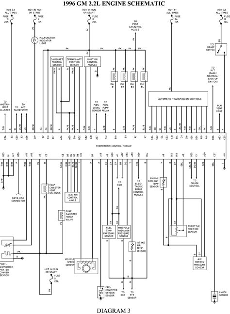 Diagram Schematic Transmission Gmc Sonoma 2 2 Engine
