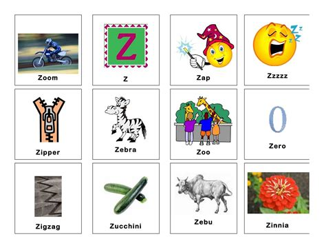 4 Letter Words Alphabet 4 letter words starting with z letters free sle letters