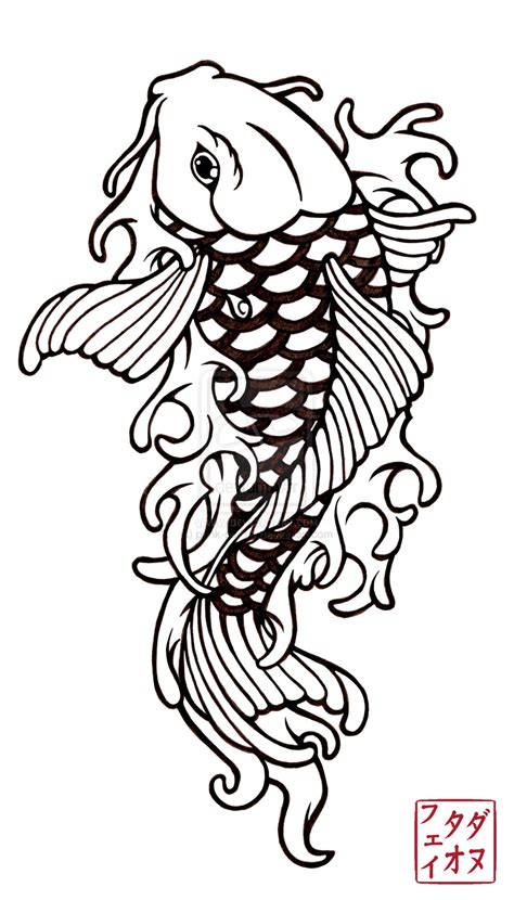 koi tattoo design 2 by punk gurl18 d36t6dq aido bonsai