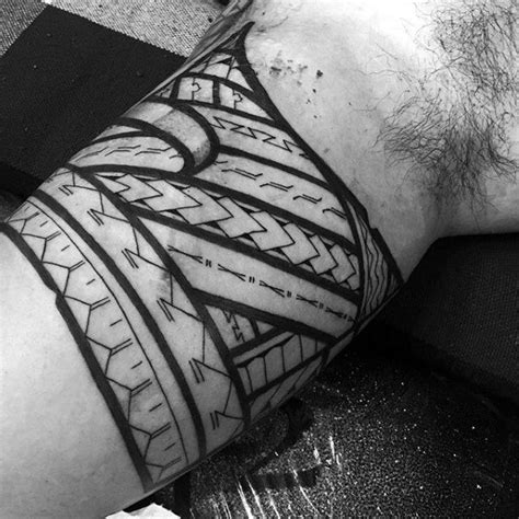 tribal inner bicep tattoos 50 polynesian arm designs for manly tribal ideas