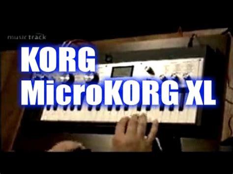 tutorial microkorg xl korg microkorg synthesizer vocoder doovi