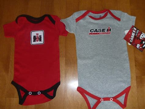 Baby infant case international harvester tractor creeper shirt size 0 3 6 12 mo ebay