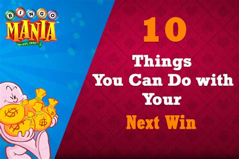 How Much Money Do You Win On Big Brother - 10 things you can do with your next win bingomania com