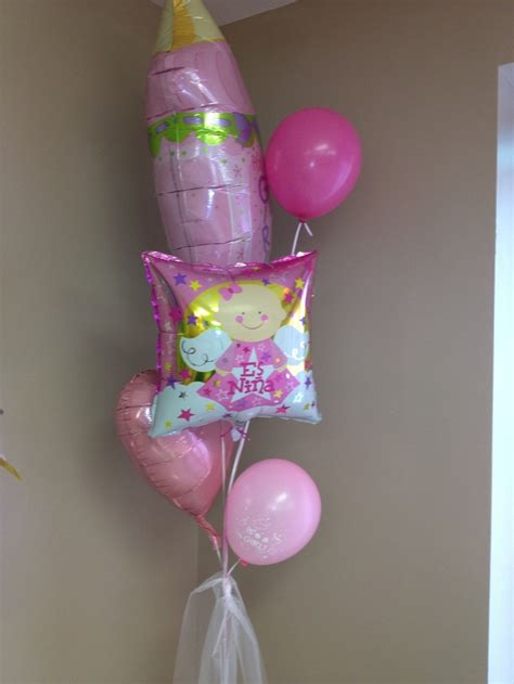 Do it yourself balloon decoration baby girl shower ideas pinterest