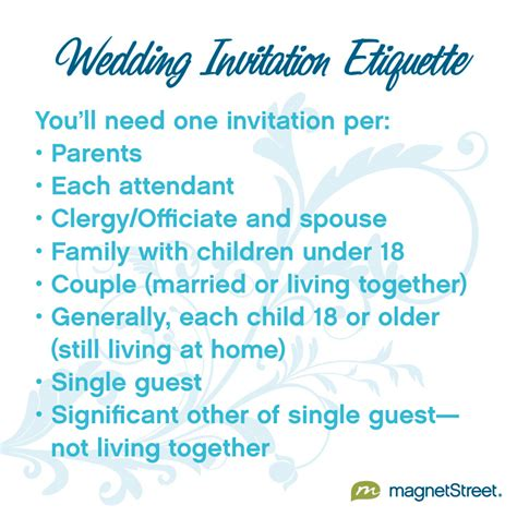 Wedding Invitations Etiquette by Wedding Invitation Etiquette Magnetstreet Weddings