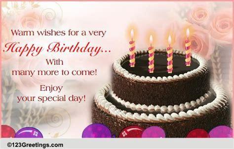 A Warm Birthday Wish  Free Happy Birthday eCards