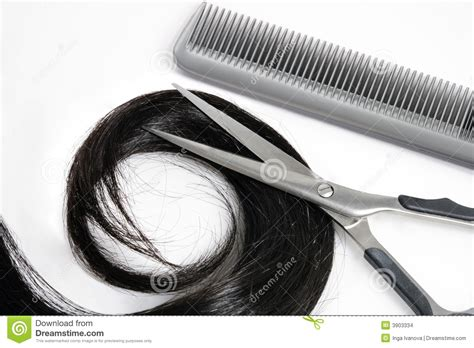 Hair Dresser Tools by Hair And Hairdresser S Tools Stock Photo Image 3903334