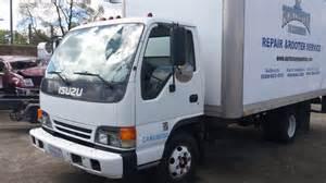 Isuzu Diesel Box Truck Parting Out 2000 Isuzu Npr Turbo Diesel Box Truck