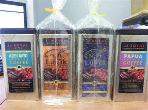 Kopi Jj Royal Aceh Gayo Arabica Coffee 200gr 벼룩시장 gt jj royal coffee luwak