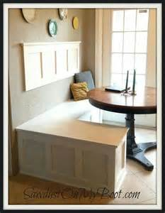 diy kitchen nook for the home pinterest