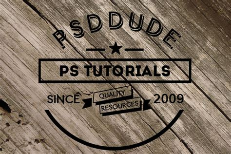 photoshop tutorial logo in wood create an engraved wood logo in photoshop photoshop